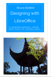 Front cover of Designing with LibreOffice